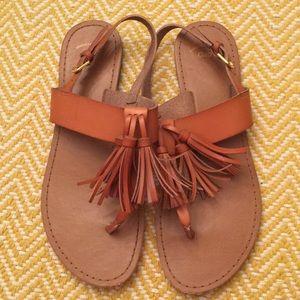 Gap Tassel Sandals